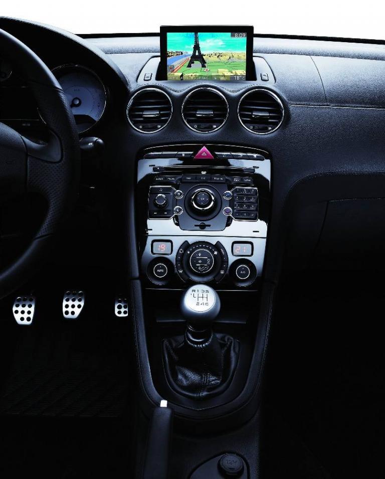 Peugeot präsentiert WIP-Navigationssysteme