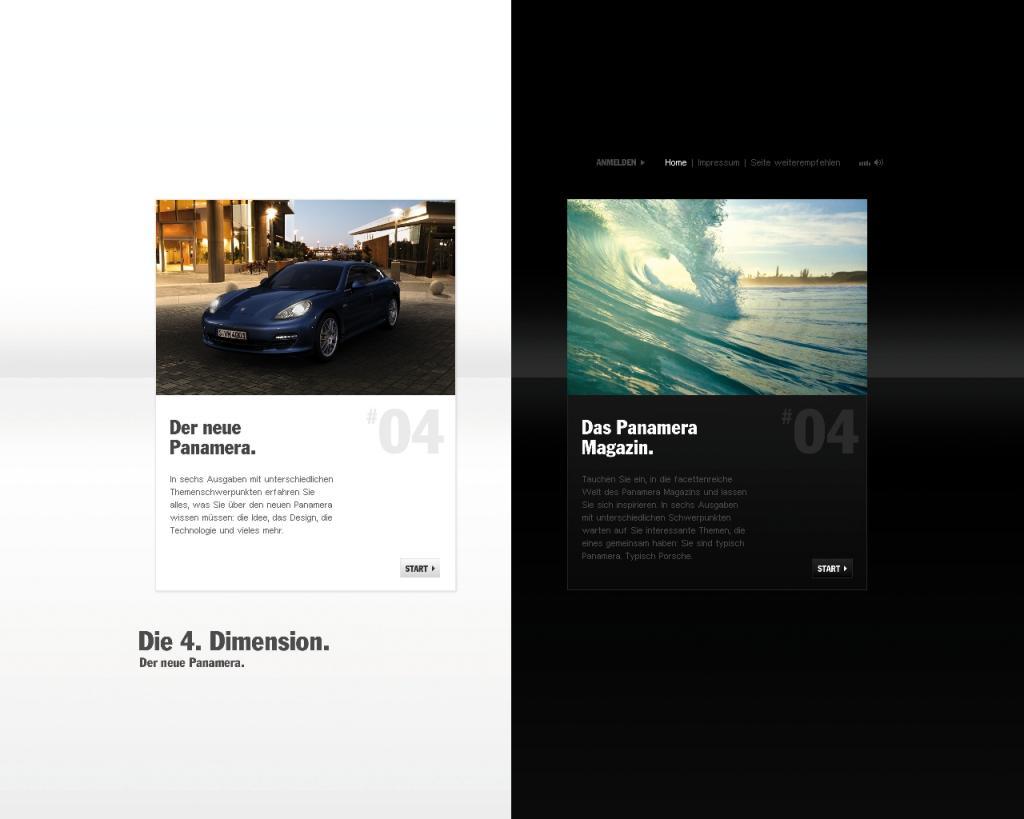 Porsche startet Panamera-Online-Kampagne