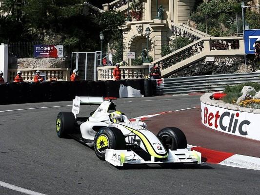 Qualifying : Button startet von der Pole