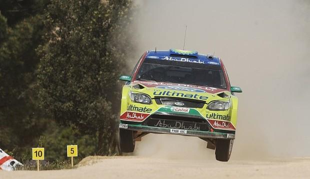 Rallye Sardinien: Tag 2 - Loeb mit Problemen: Ford vor Doppelsieg