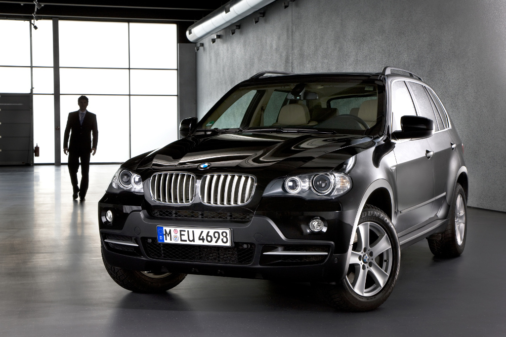 Sonderfahrzeug: BMW X5 Security