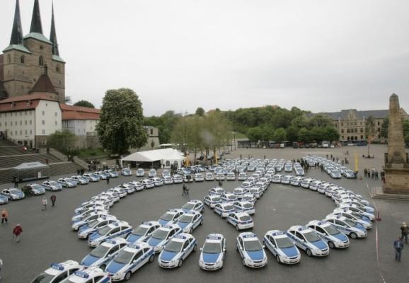 Thüringens Polizei kauft Opel Corsa