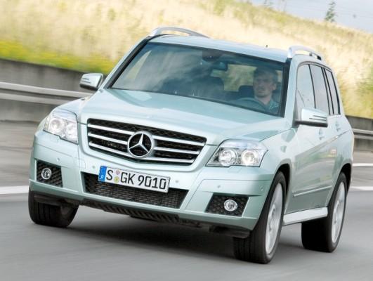Umweltzertifikat für den Mercedes-Benz GLK