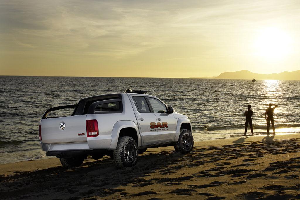 Volkswagen zeigt auf der RETTmobil die Pick-up-Studie