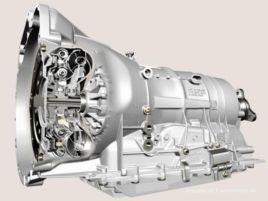ZF produzierte fünfmillionstes Sechsgang-Automatikgetriebe