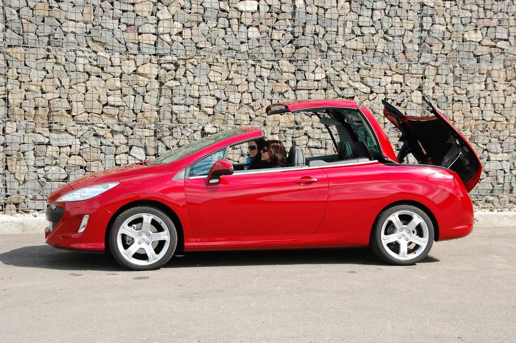 308: Erstkontakt Peugeot 308 CC Platinum HDi FAP: Da läuft's heiß den Rücken runter...