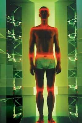 3D-Kabine ermittelt Körpermaße von Bikern
