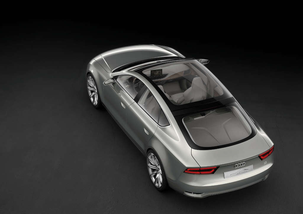 A5: Audi A5 Sportback kommt im Herbst 2009