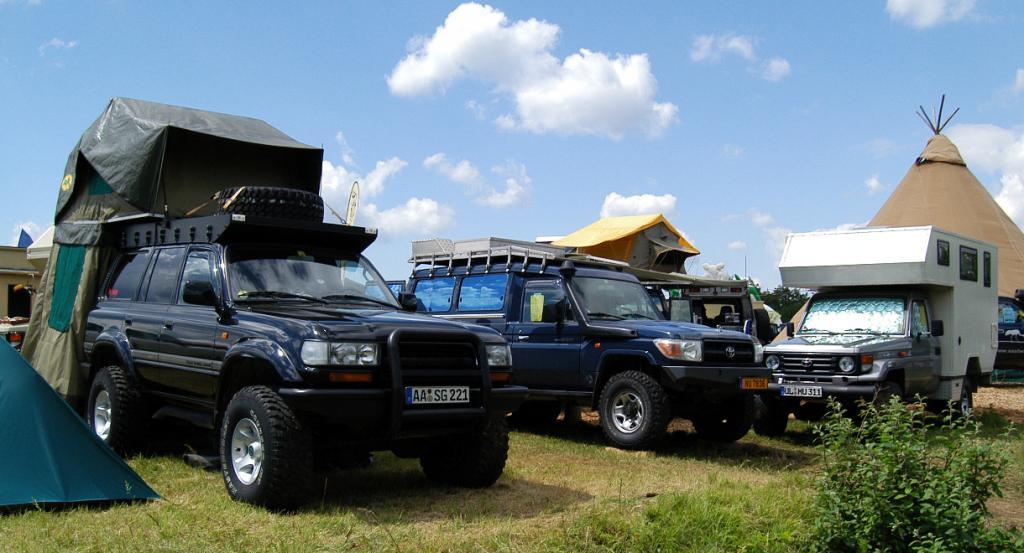 Auf allen Vieren: Europas Allradler treffen sich in Bad Kissingen