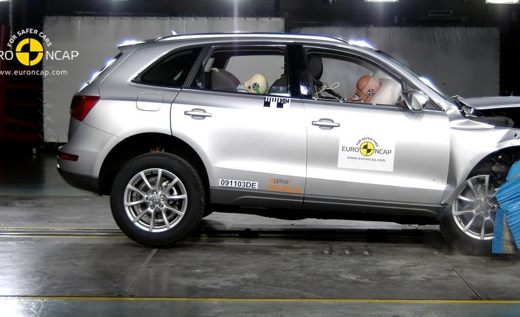 Bestnoten in Sachen Sicherheit für Audi A4 und Q5
