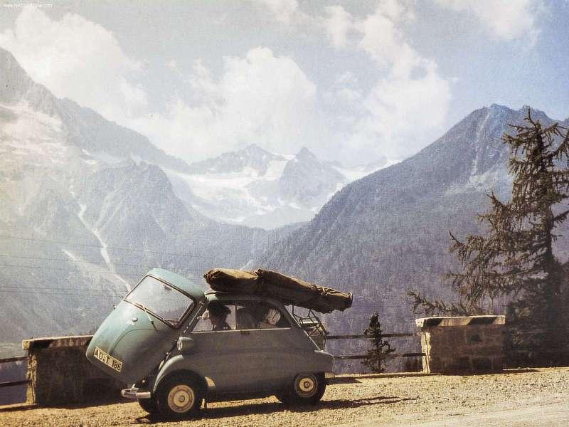 Das rollende Ei - die BMW Isetta! Automobilen Eindruck hinterlassen.