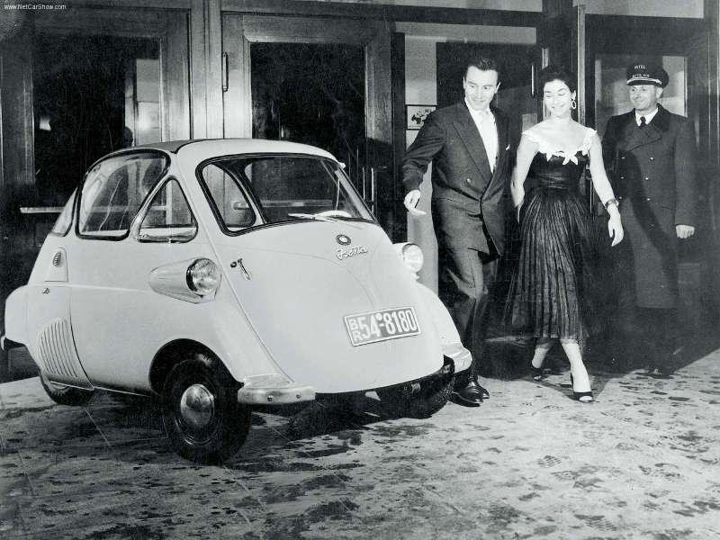 Das rollende Ei - die BMW Isetta! Ein Auto. Ein Statement.