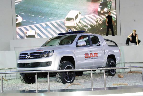 Der Pick-up von Volkswagen heißt Amarok