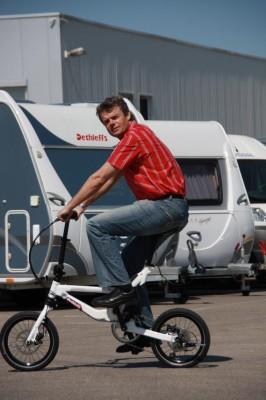 Dethleffs Faltrad für den Camping-Urlaub
