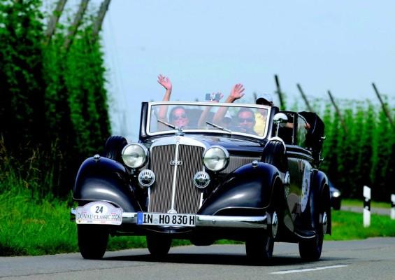 Donau Classic: Oldtimer-Rallye rund um Ingolstadt