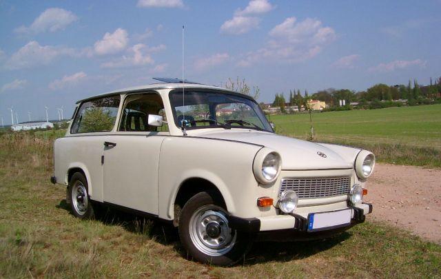 """Es lebe die""""Pappe""""– der Trabant Ein Traum von einem Auto."""