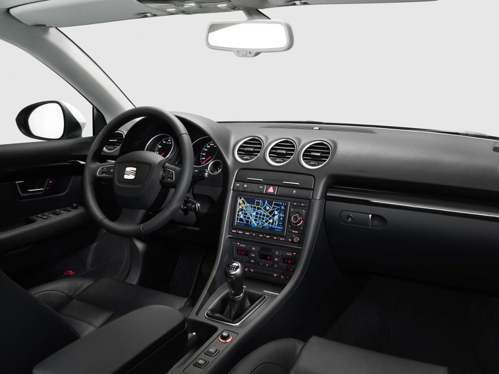 Exeo: Presse-Präsentation Seat Exeo ST: Mit freundlichem Gruß von Audi