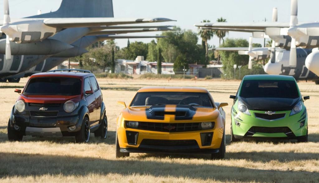 Fünf Chevrolet-Modelle erobern die Kino-Leinwand