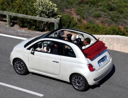 Fiat 500 C startet als limitiertes Sondermodell