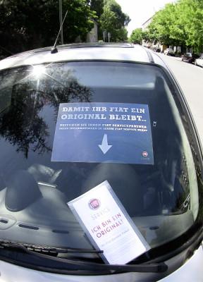 Fiat startet Kampagne für Originalteile