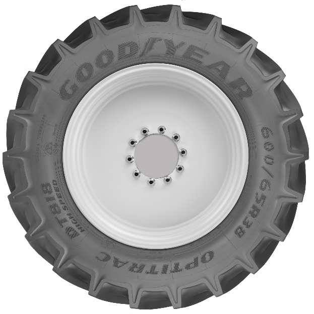 Goodyear präsentiert High-Speed –Reifen für die Landwirtschaft