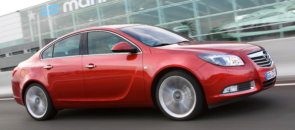 Insignia: Parkassistent für den Opel Insignia