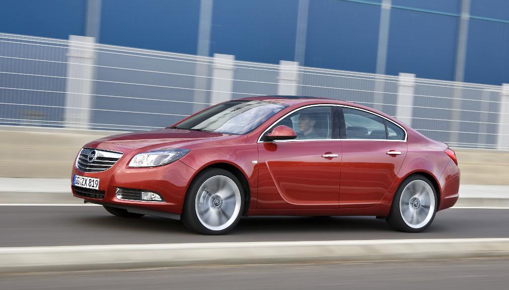 Insignia: Presse-Präsentation Opel Insignia Ecoflex: Schneller sparen