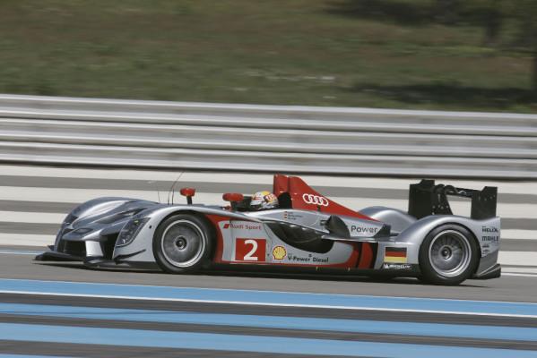 Le Mans-Premiere des neuen Audi R15 TDI