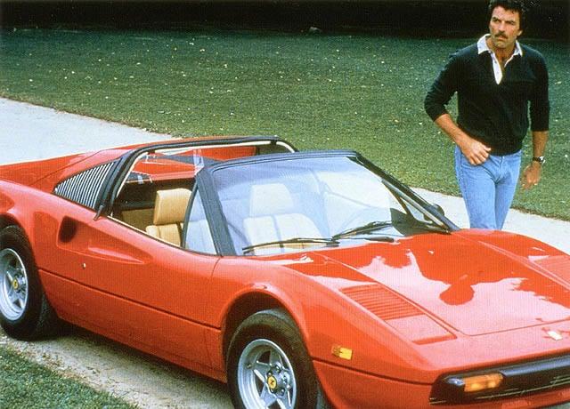 """Magnums """"Dienstwagen"""" - der Ferrari 308 GTS Auto. Emotion. Erinnerung."""