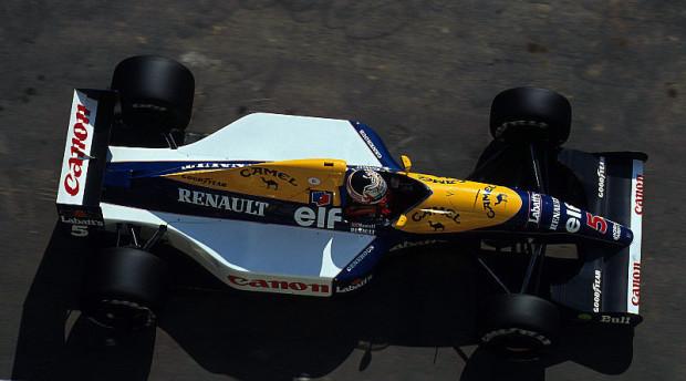 Mansell setzt auf Button: Doppelsieg für Brawn