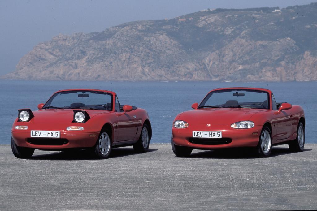 Mazda MX-5: Der Kult-Roadster wird 20   - Bild(4)