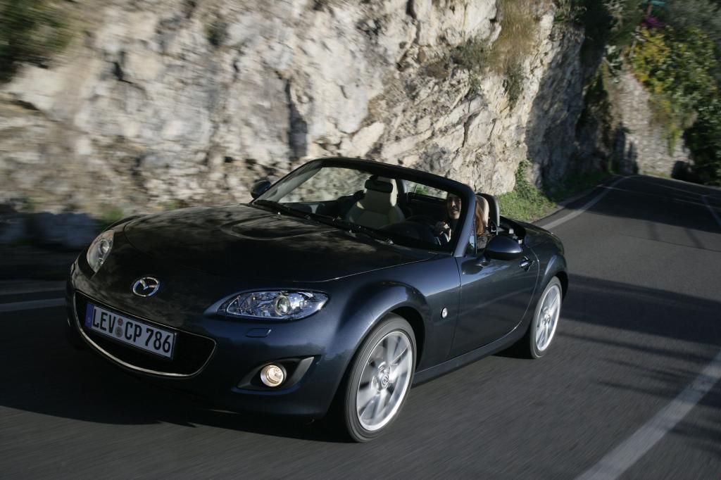 Mazda MX-5: Der Kult-Roadster wird 20   - Bild(5)