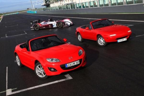 Mazda feiert 20 Jahre MX-5 in Le Mans