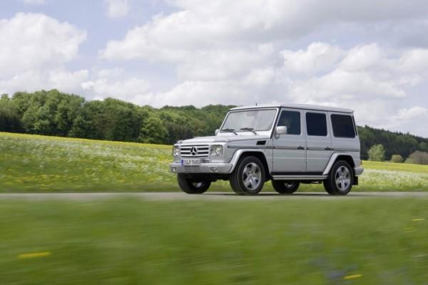 Mehr Ausstattung für die Mercedes-Benz G-Klasse
