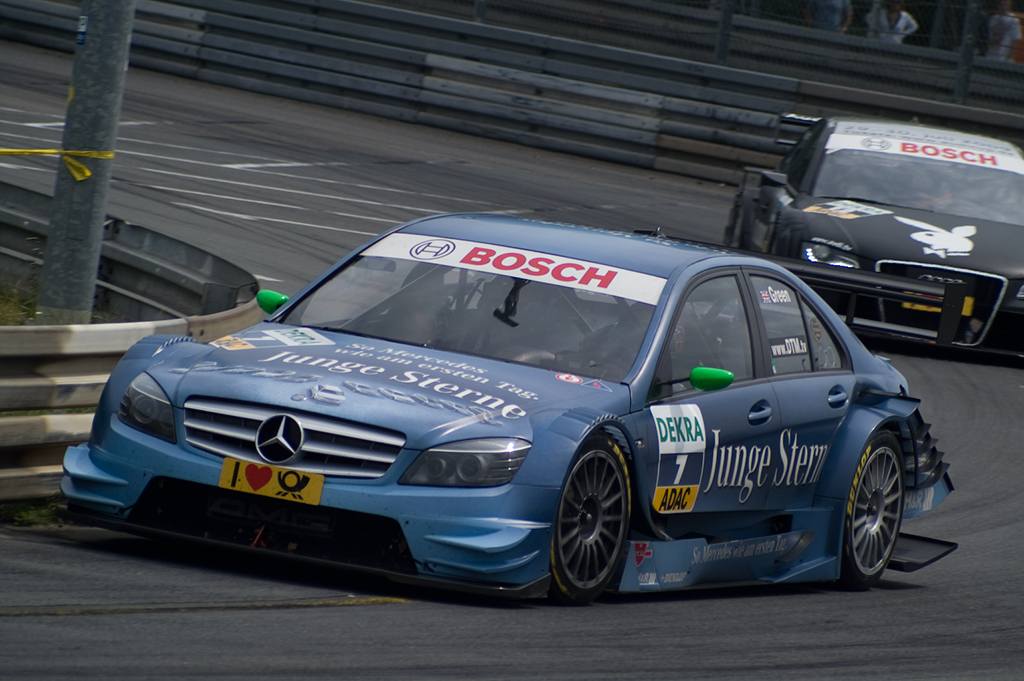 Motorsport: 3. DTM-Lauf in Nürnberg: Jamie Green gewinnt DTM-Krimi am Norisring