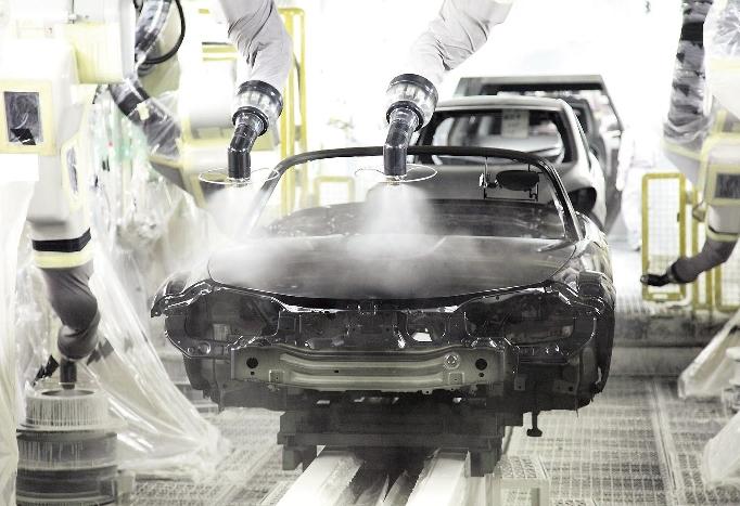 Neue Lackierstraße von Mazda entlastet die Umwelt
