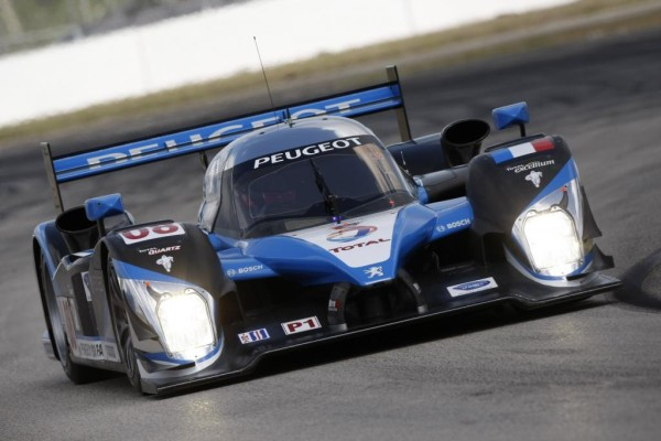 Peugeot peilt mit verbessertem 908 den Le-Mans-Sieg an