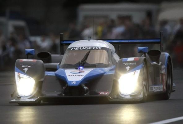 Peugeot steht in Le Mans auf der Pole-Position