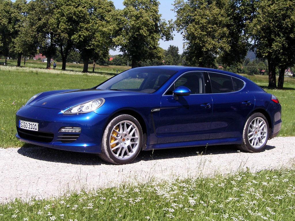 Porsche Panamera: Flach, breit, stark - Bild(8)