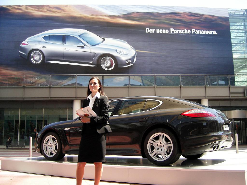 Porsche Panamera: Flach, breit, stark - Bild