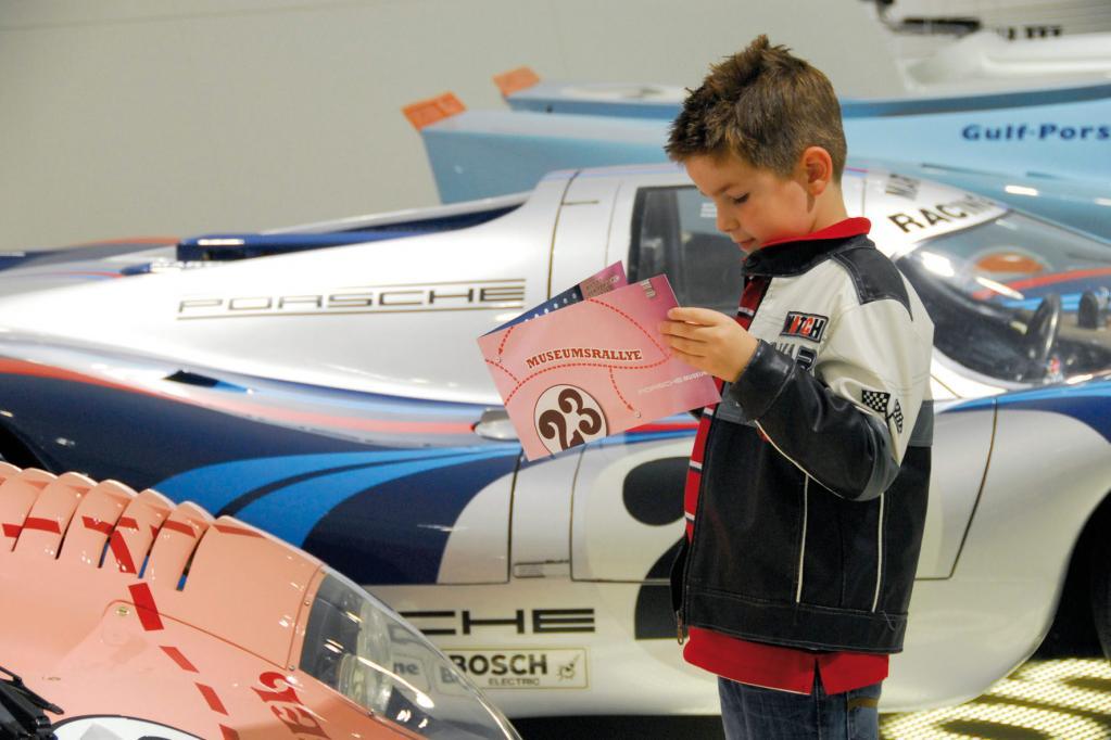Porsche bietet ''Museumsrallye'' für Kinder