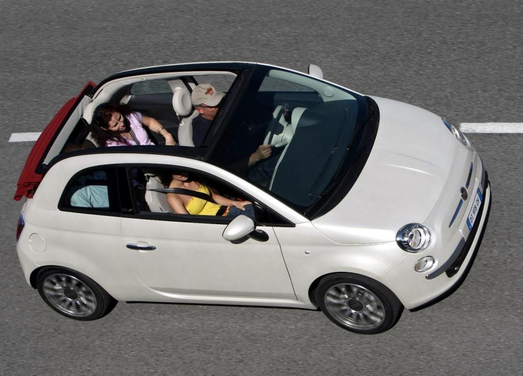 Preise für den Fiat 500 C beginnen bei 13 800 Euro