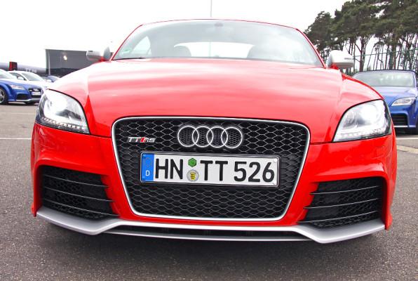 Presse-Präsentation Audi TT RS: Ein Hoch auf die Fünf!