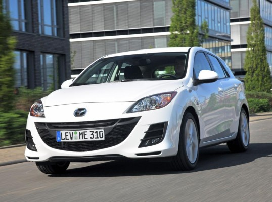 Presse-Präsentation Mazda 3 2.0 l MZR DISI i-stop: Fahrspaß mit Sparfaktor