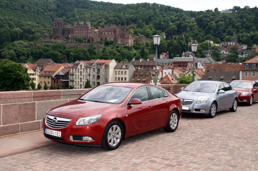 Presse-Präsentation Opel Insignia Ecoflex: Schneller sparen - Bild(3)