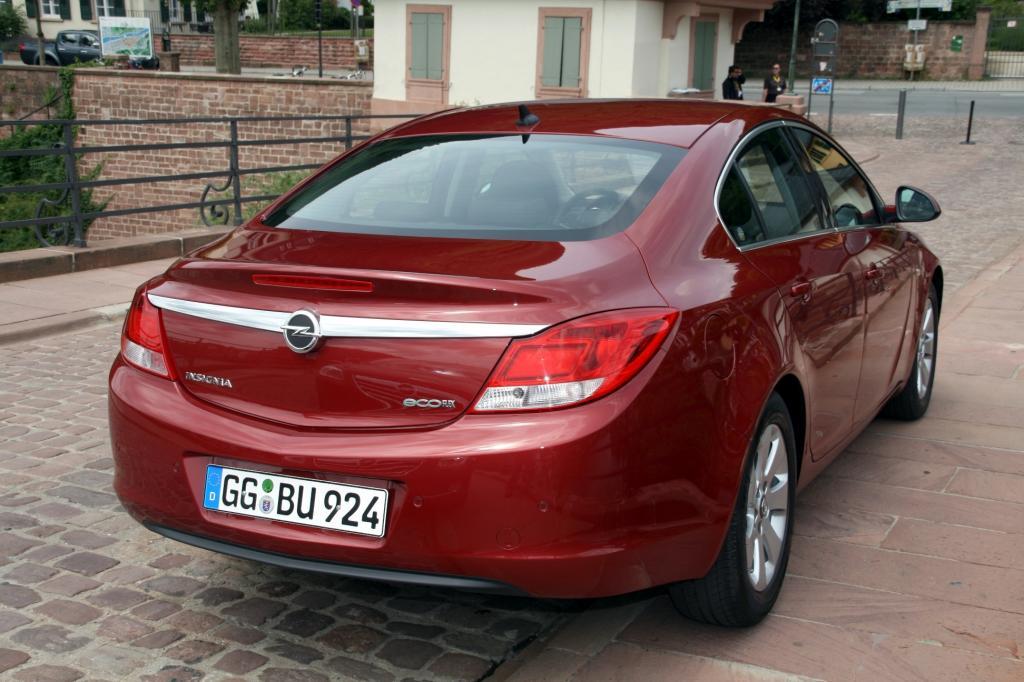 Presse-Präsentation Opel Insignia Ecoflex: Schneller sparen - Bild(4)