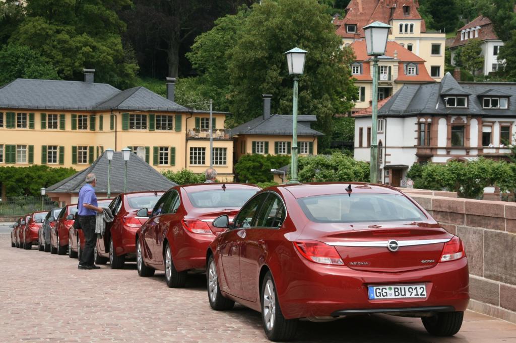 Presse-Präsentation Opel Insignia Ecoflex: Schneller sparen - Bild(6)