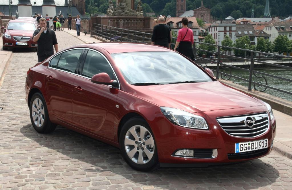 Presse-Präsentation Opel Insignia Ecoflex: Schneller sparen