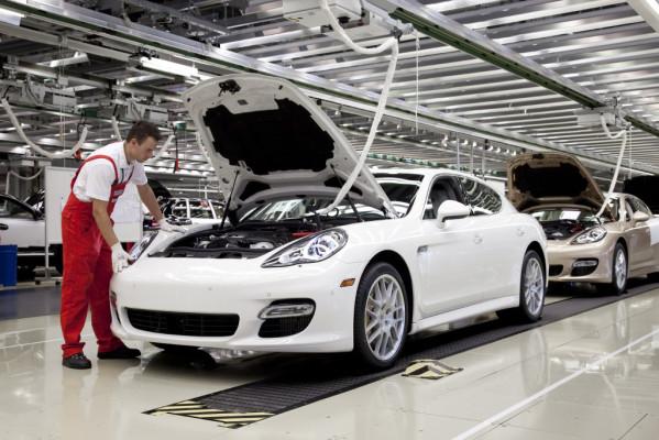 Produktionsstart des Porsche Panamera: Made in Germany