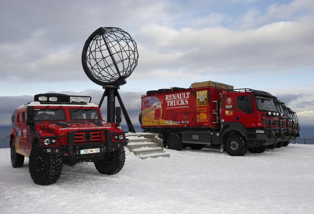 Renault Trucks: Unfall auf der Expeditions-Tour